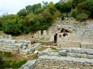 Butrinti - archeological site in Albania