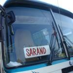Bus in Saranda, Albania