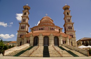 Korca - Orthodox Cathedral of resurrection of Christ